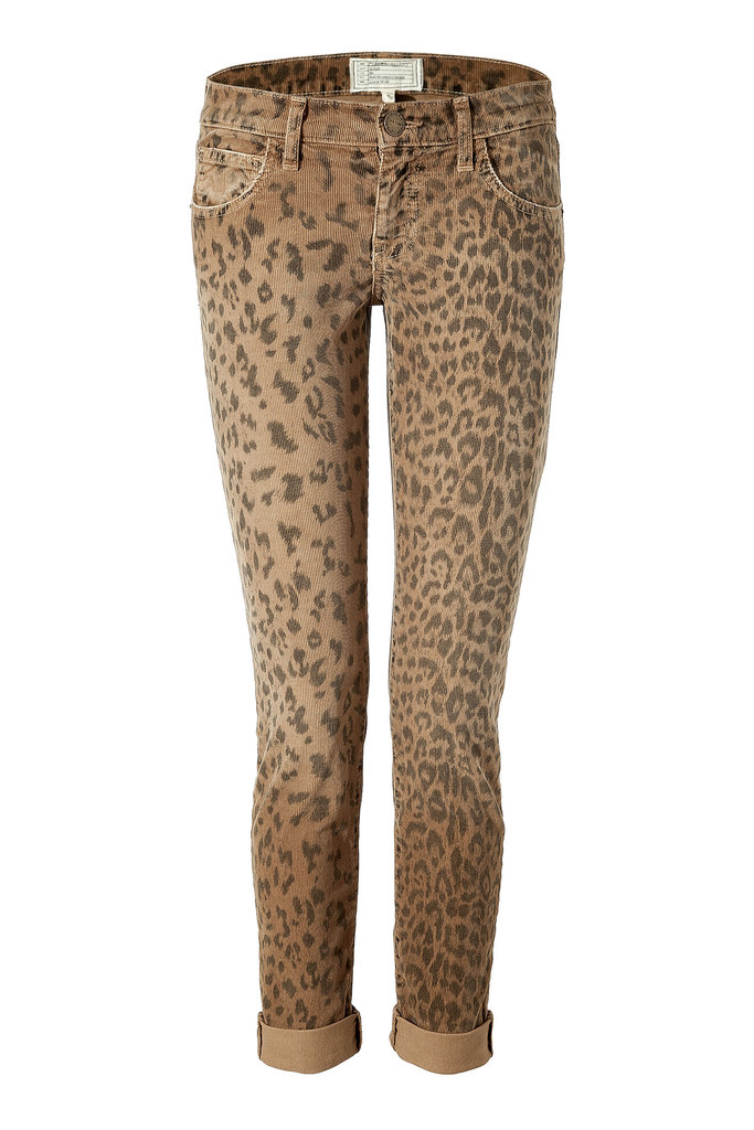 It's corduroy season — but this year I'm opting for a pair with a little more personality. I love that Current/Elliott brought back their cool-girl leopard print on these Fall-feeling Leopard Print Corduroy Pants ($280). I'll be wearing these with a slouchy t-shirt, leather jacket, and my favorite ankle boots for an effortless Miranda-Kerr-esque take on everyday dressing. — Hannah Weil, associate editor