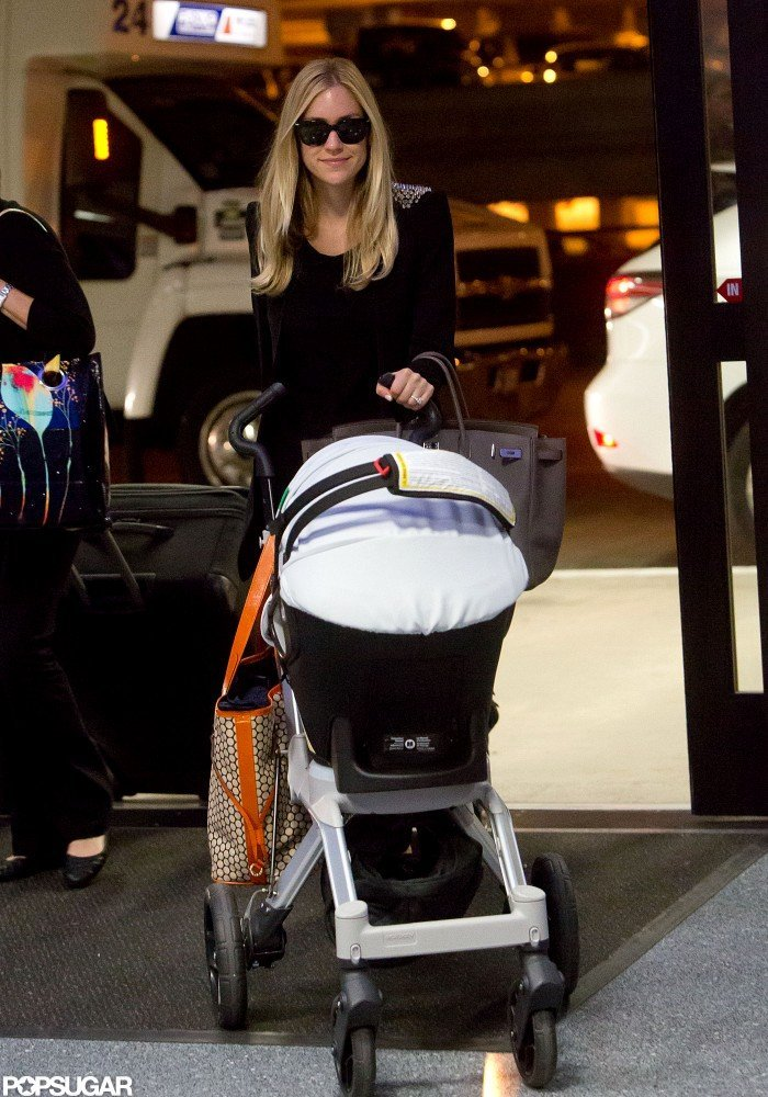 Kristin Cavallari made her way into LAX.