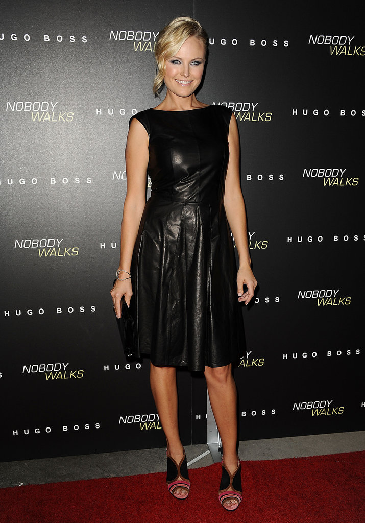 Malin Akerman wore Hugo Boss to the premiere.