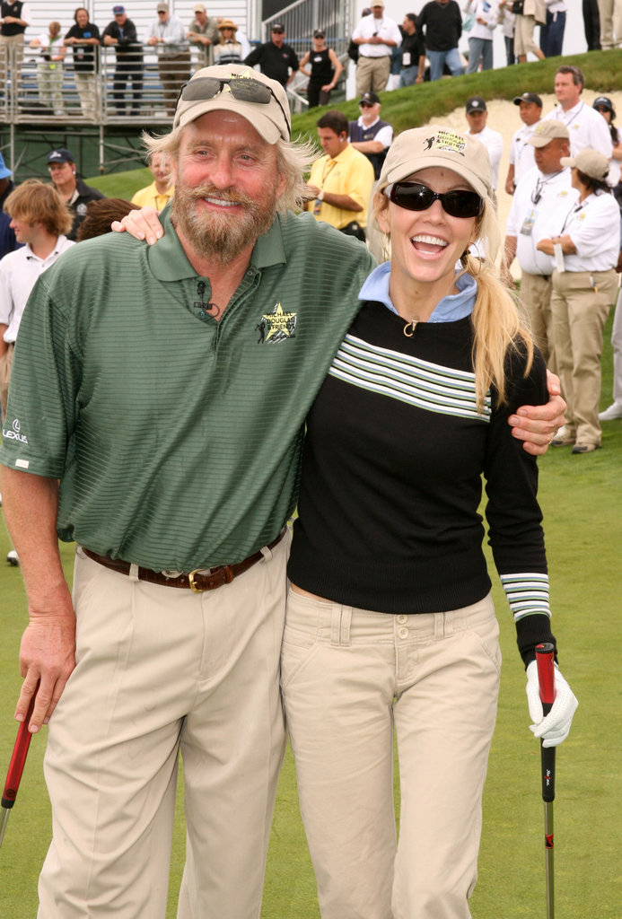 Michael Douglas and Heather Locklear paired up in May 2006 in LA.