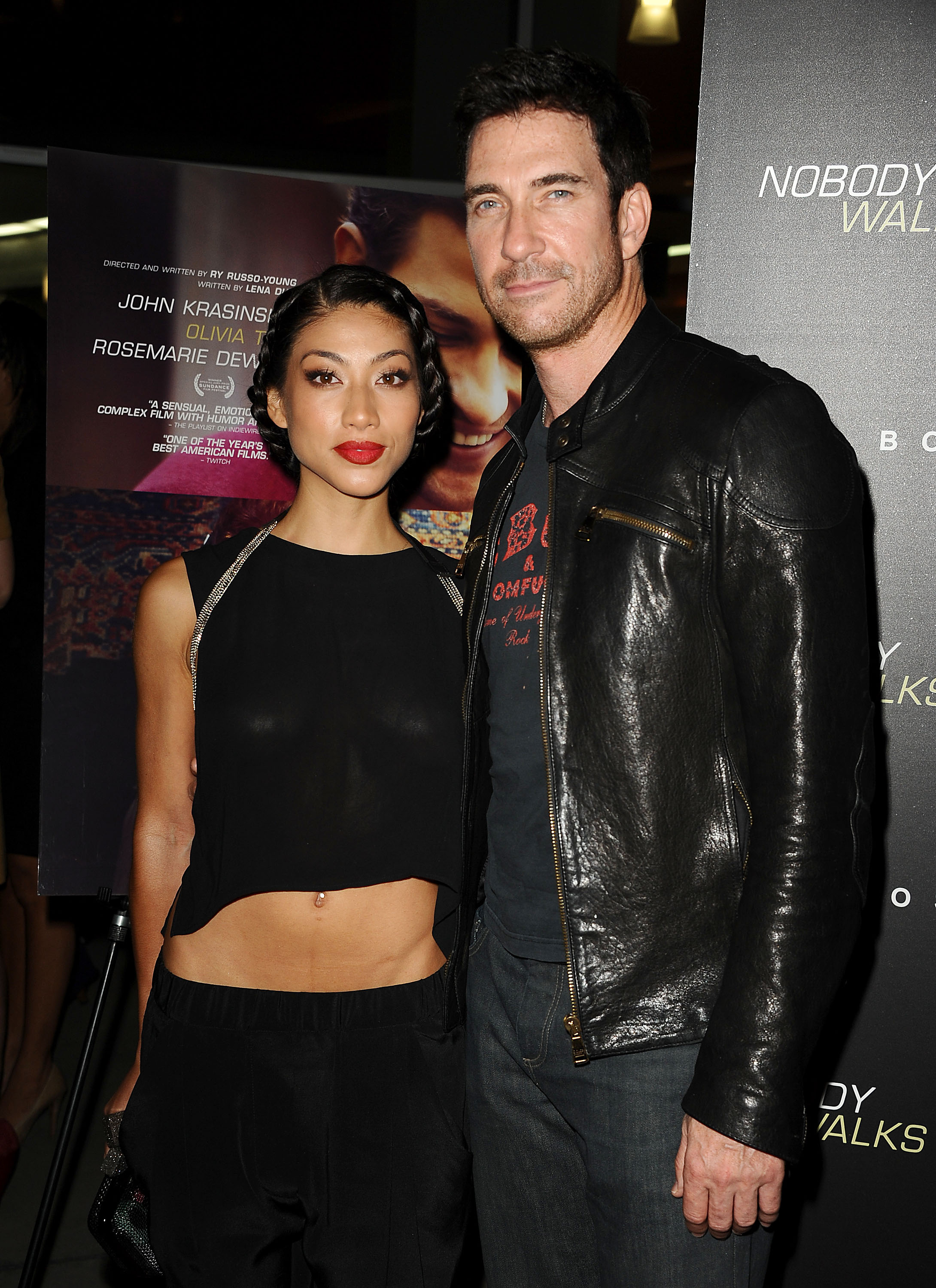 Dylan McDermott stepped out with girlfriend Shasi Wells.