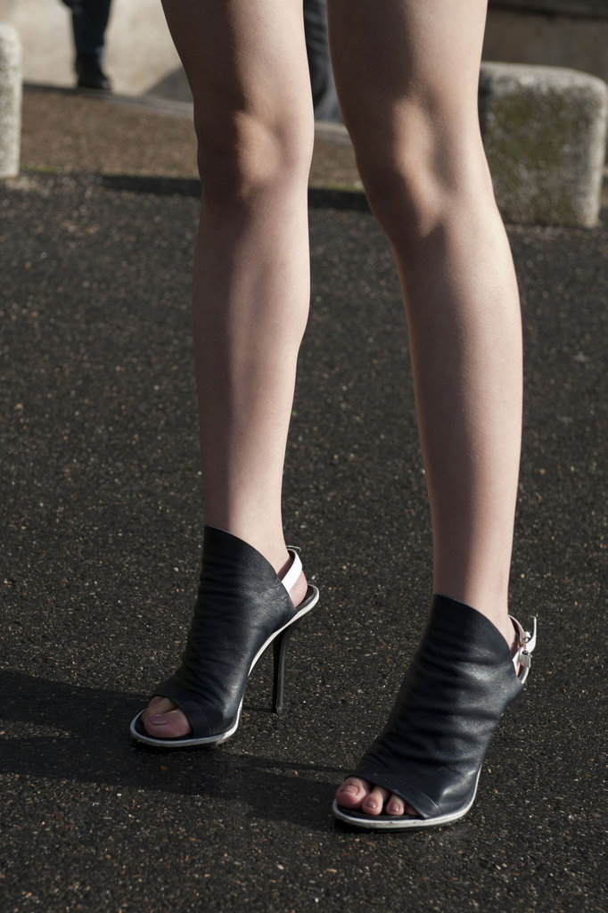 Balenciaga heels had sex appeal — and cool-girl appeal.