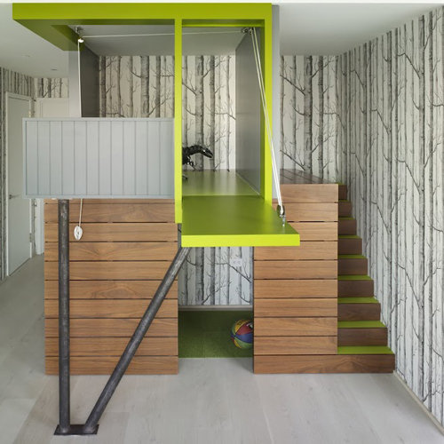 Cool Family Home With Playrooms And Built In Bunkbeds