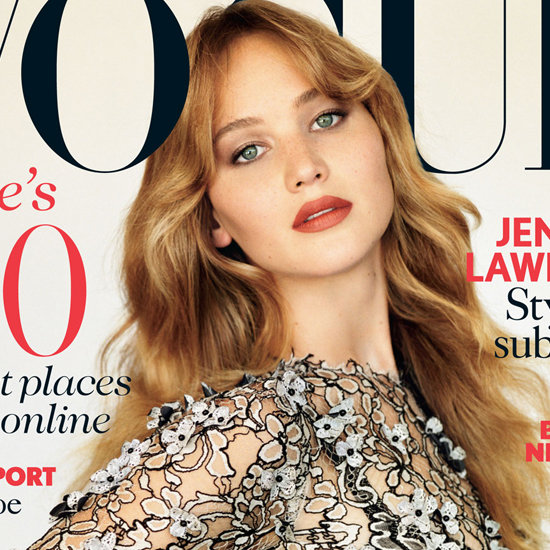 Jennifer Lawrence on Cover of Vogue UK November 2012