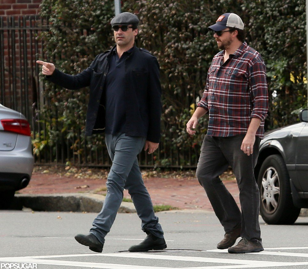 Jon Hamm and Danny McBride hung out.