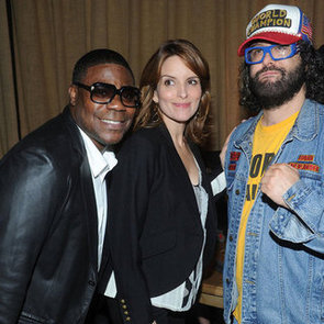 Pictures Of 30 Rock Stars Tina Fey, Tracy Morgan And Katrina Bowden Celebrating Final Season