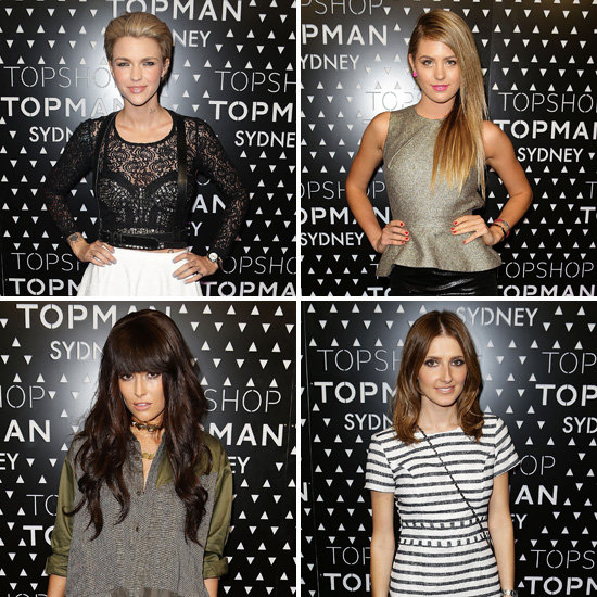 Topshop and Topman Sydney Opening Launch Party Celebrity Pictures