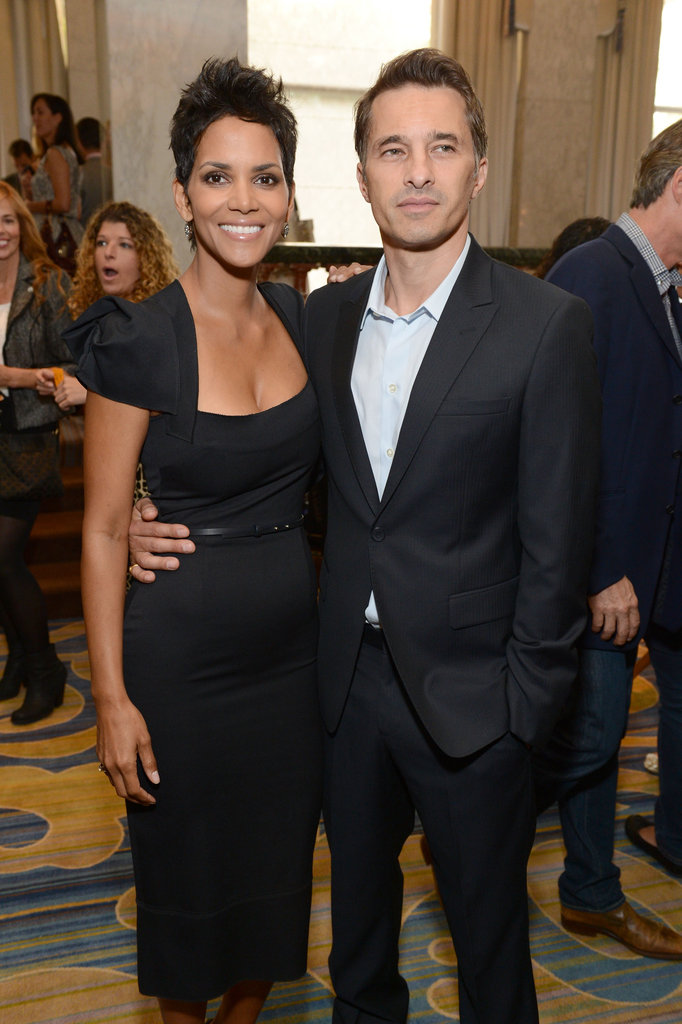 Halle Berry and Olivier Martinez got together for a photo.