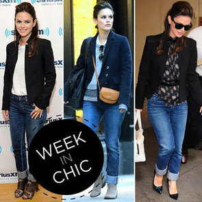 See Rachel Bilson's Week in Chic: Snoop the Stylish Star's Off-Duty Denim Wardrobe
