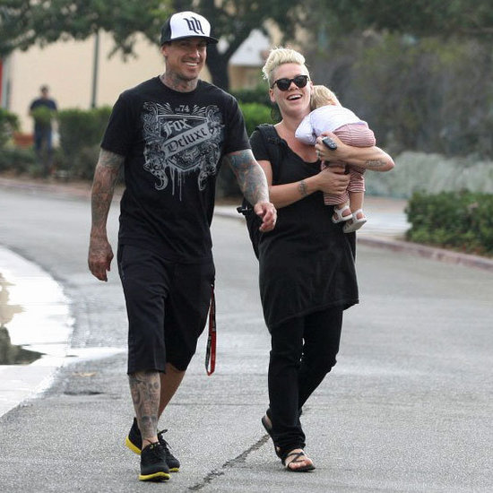Pink and Carey Hart Go to Starbucks | Pictures