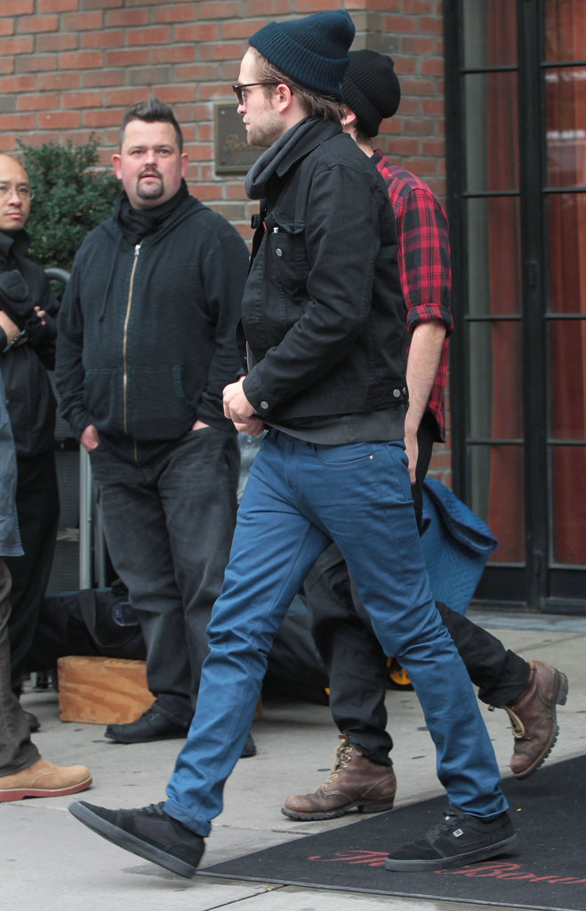 Robert Pattinson and Tom Sturridge were in NYC together.