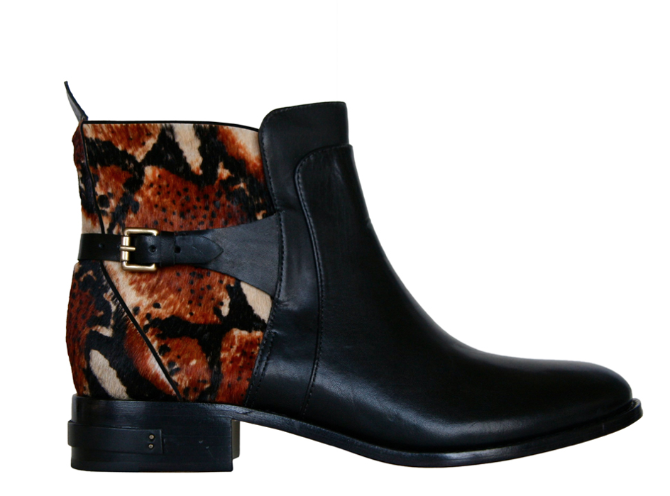 If you're looking for more textural intrigue, then opt for the Freda Play ($515) style in a playfully exotic print.