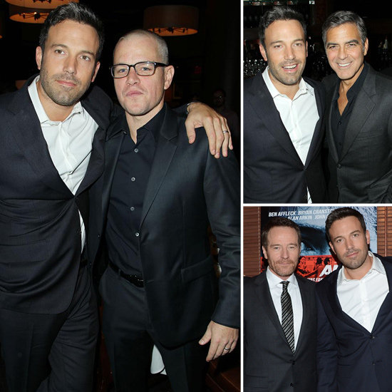 Ben, Matt, and George Hit the NYC Premiere of Argo!