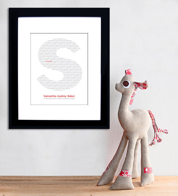 Personalized Baby Name Print