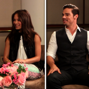 Kristin Kreuk and Jay Ryan Beauty and the Beast Interview