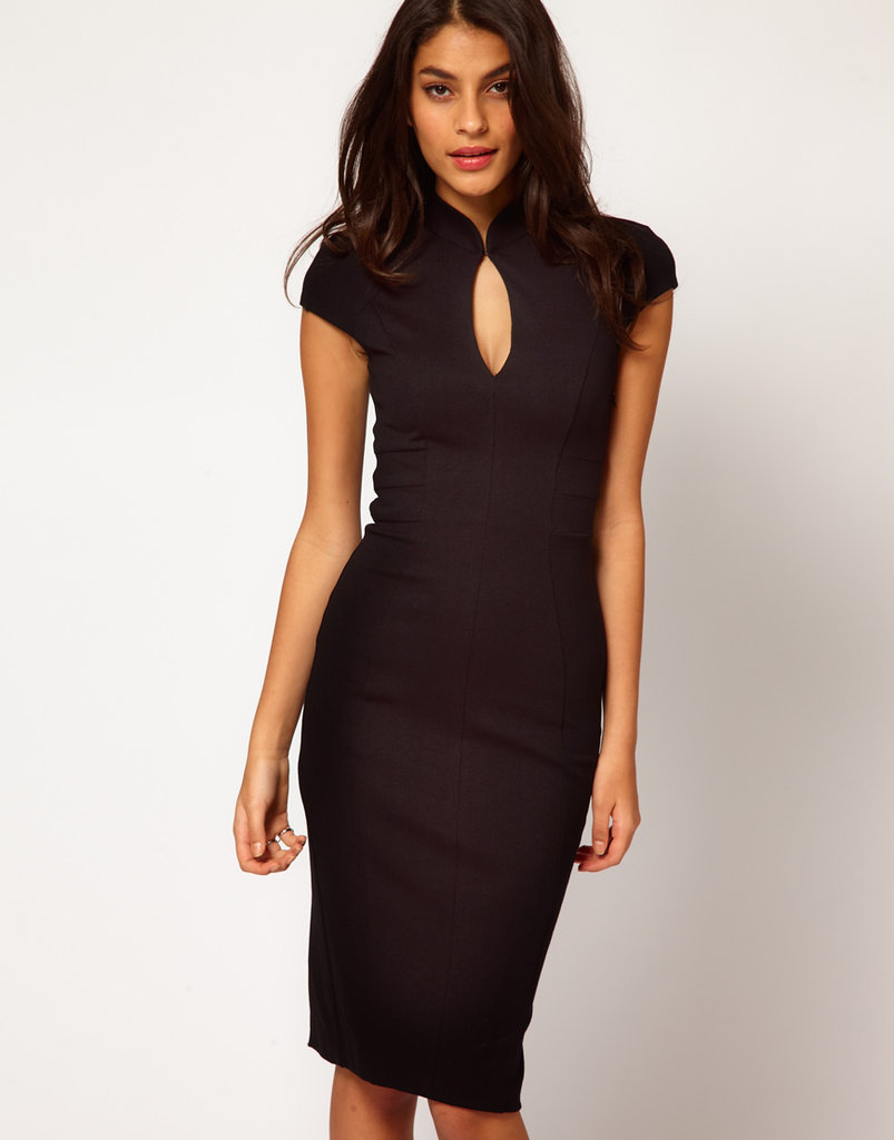 This body-con ASOS Sexy Pencil Dress With Oriental Neck ($66) puts a sexy spin on the mandarin collar.