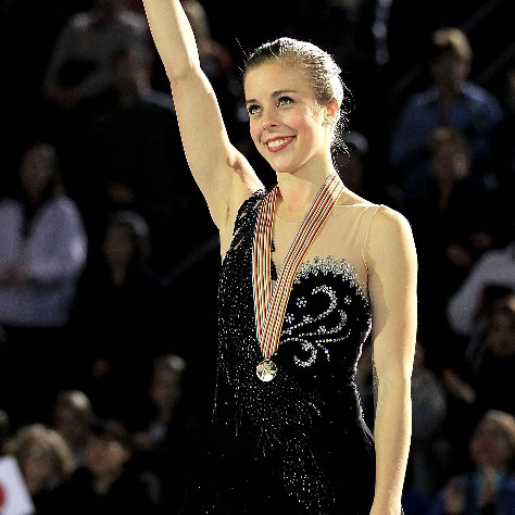 US Figure Skater Ashley Wagner on Trying For 2014 Olympics