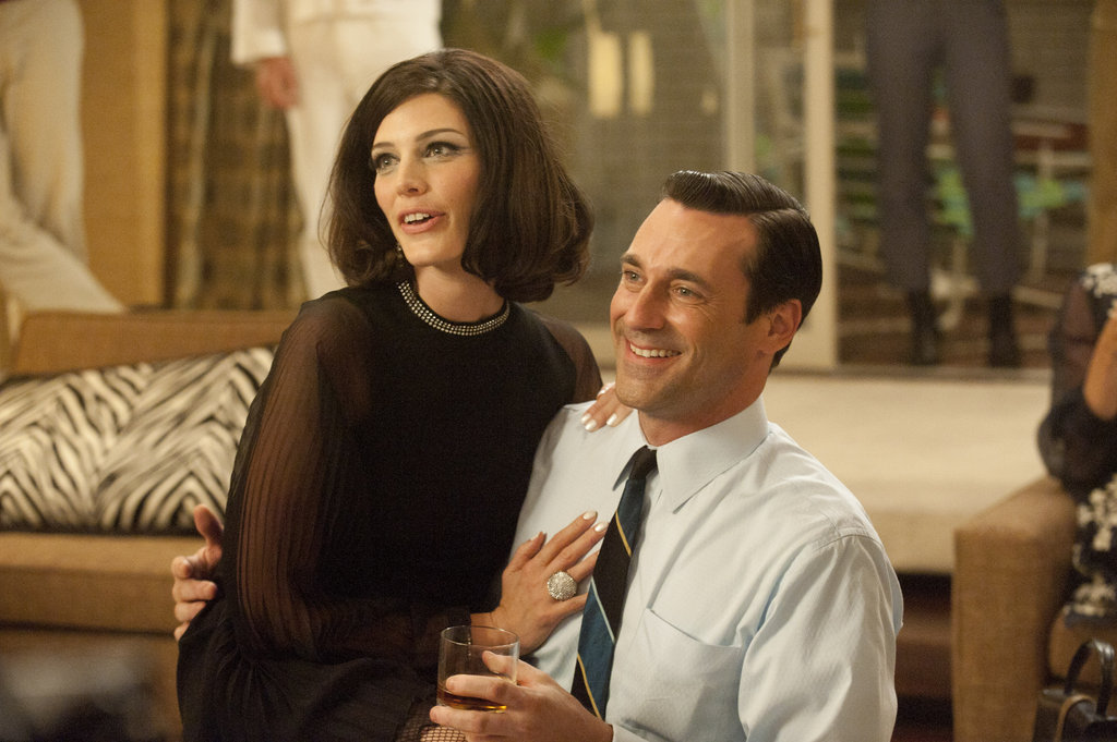 Don and Megan Draper From Mad Men