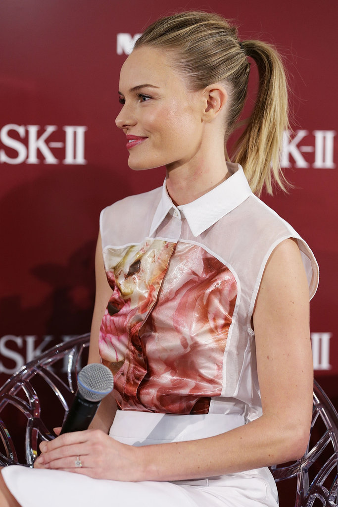 Kate Bosworth wore Preen at a promotional event for her skin care line in Sydney.