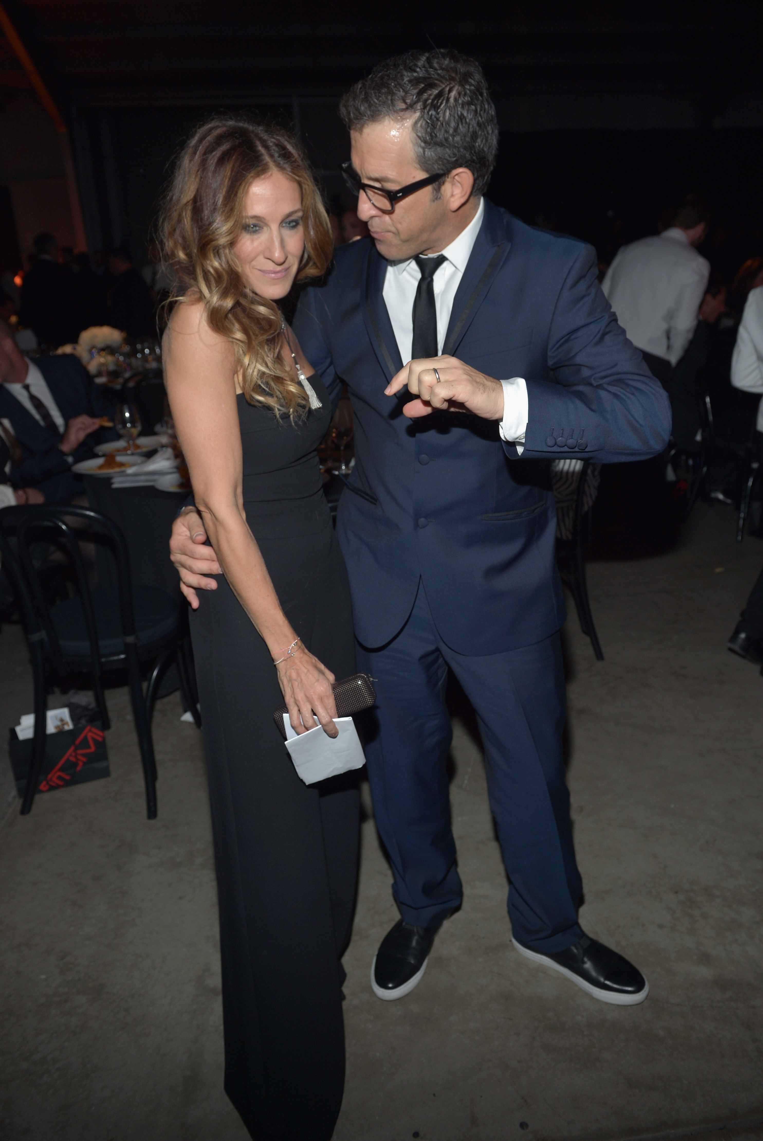 Sarah Jessica Parker stepped out in LA for the event.