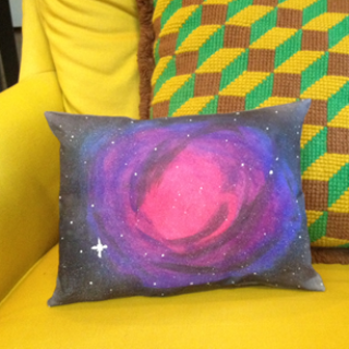 How to Make a Galaxy Pillow