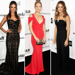 Alessandra Ambrosio, Sarah Jessica Parker And Kate Hudson's Sexy Dresses At amfAR