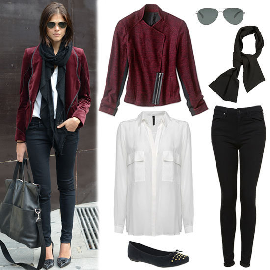 Oxblood is the color of the season. Here, we showed you a foolproof way to style it up for Fall.