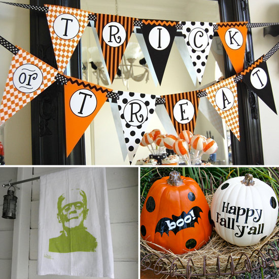 Cheap halloween decorating ideas popsugar smart living Halloween decoration diy cheap
