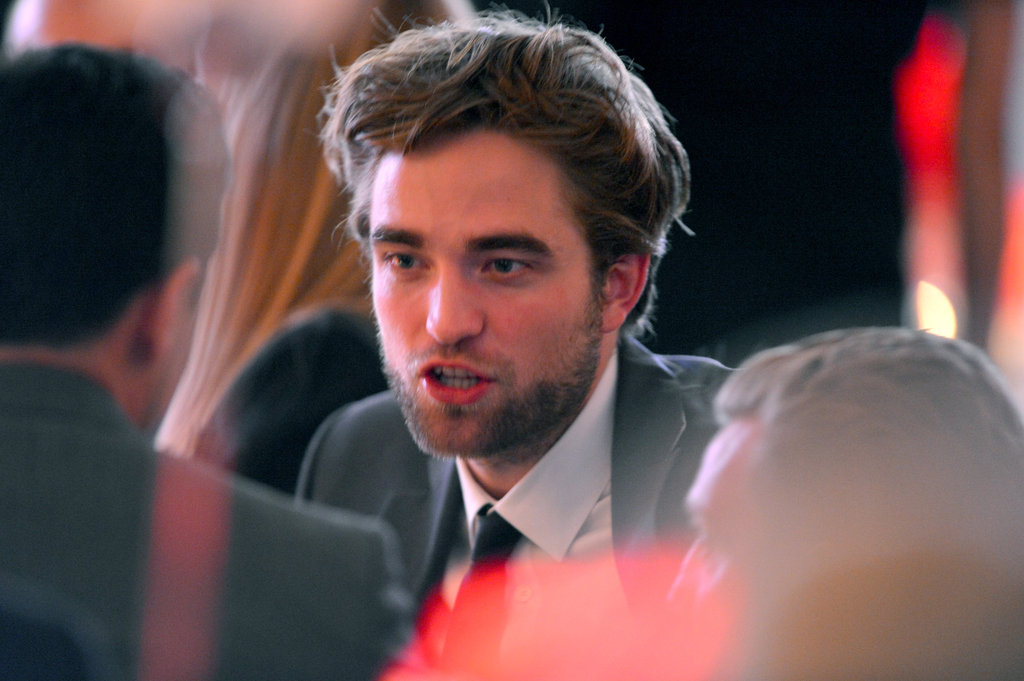 Robert Pattinson attended the Elle Women in Hollywood Awards.