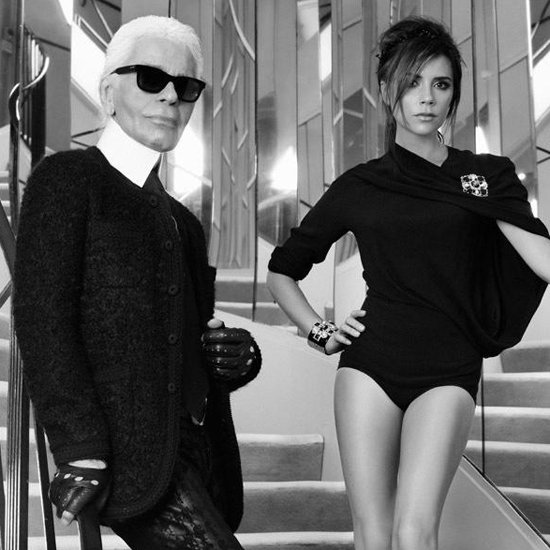 Victoria Beckham Tweets Pictures From Elle France Shoot