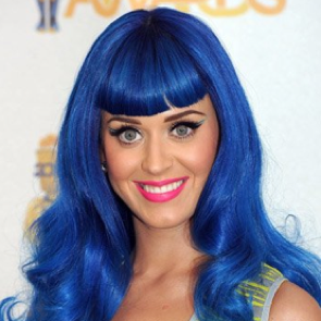 Purple, Green, Blue: Katy Perry's Multicolored Hair Evolution