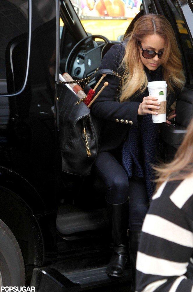 Lauren Conrad got Starbucks.