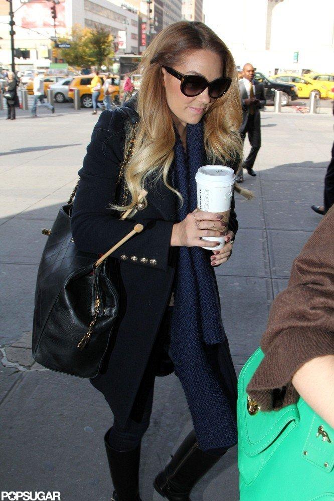 Lauren Conrad left NYC.
