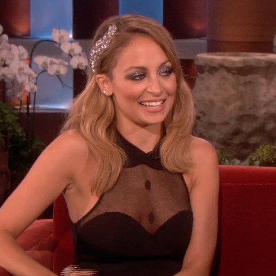 Nicole Richie Talking About Dog on Ellen | Video