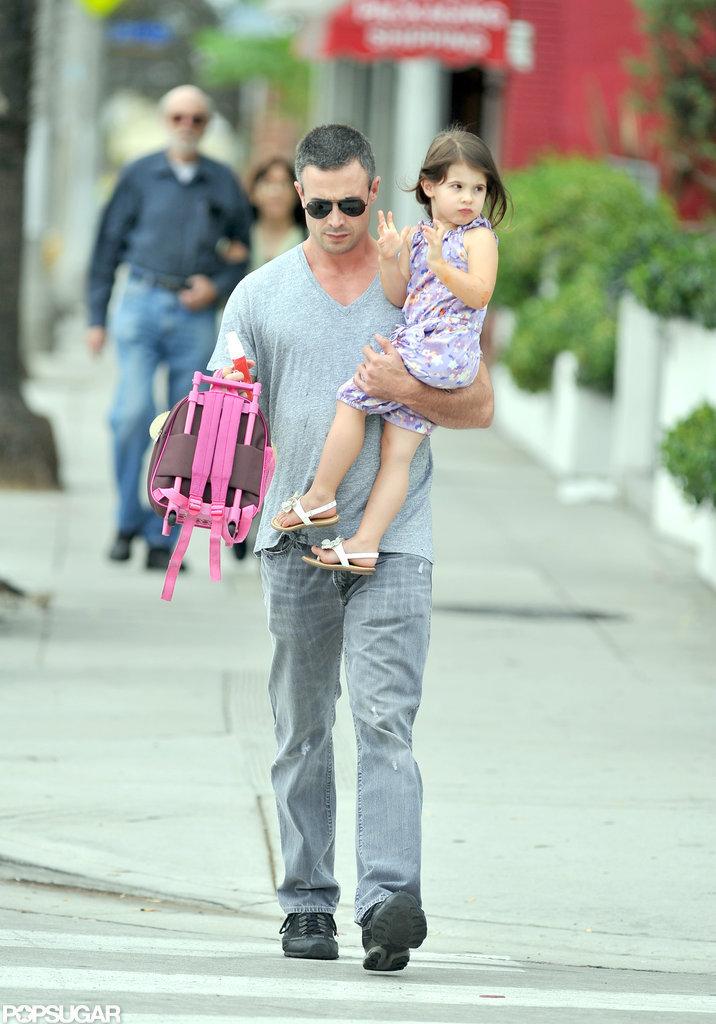 Freddie Prinze Jr. carried Charlotte Prinze in LA.