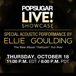 Ellie Goulding Performing New Album Halcyon Live on PopSugar