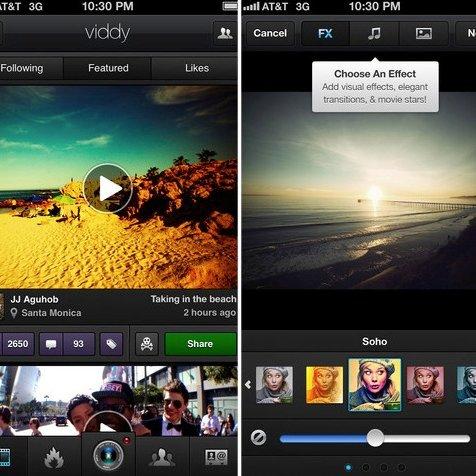 Video Sharing App Viddy