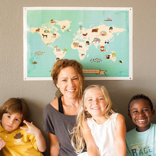 Children Inspire Design Prints For Charity