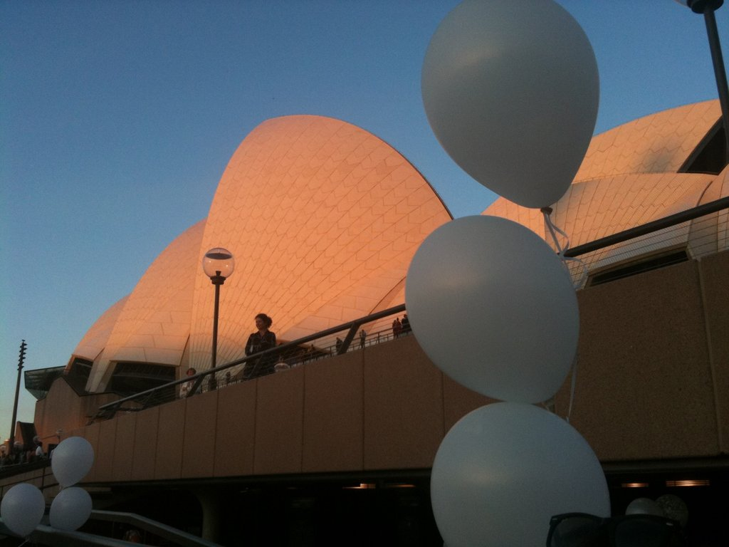 We get to see the Opera House and Harbour Bridge every work day, how lucky are we?