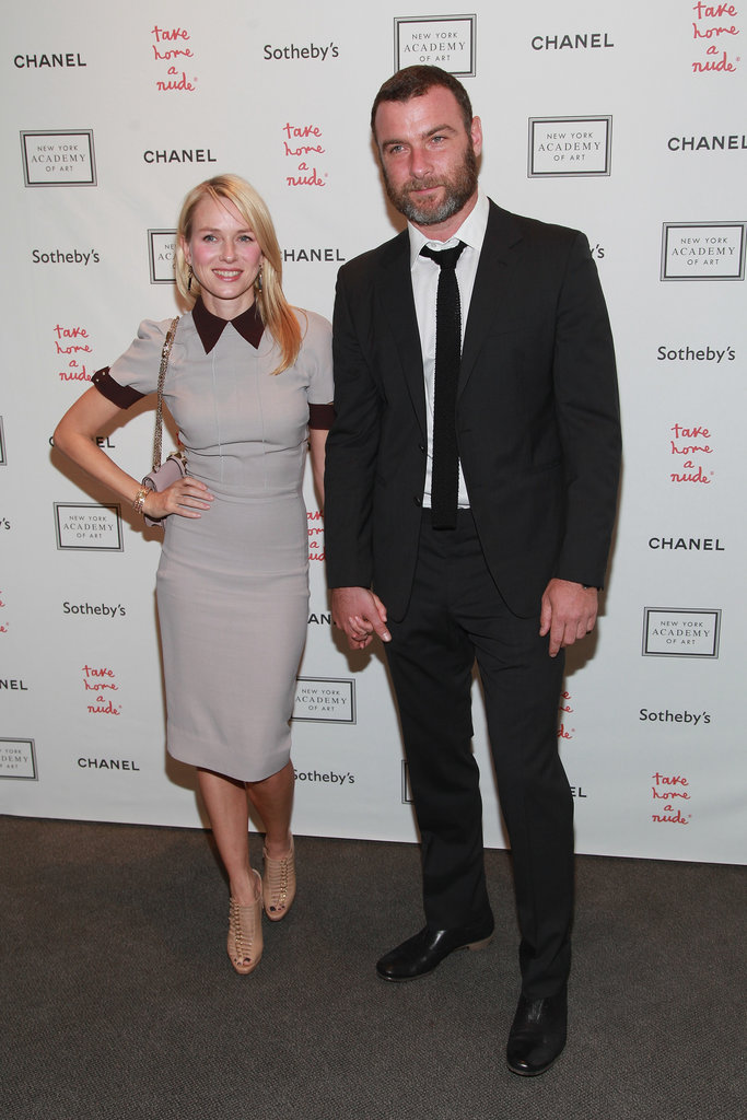 Naomi Watts Wears Victoria Beckham For a Night Out With Liev Schreiber