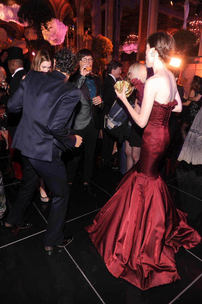 Zac and Coco look like they were having a ball on the dance floor.