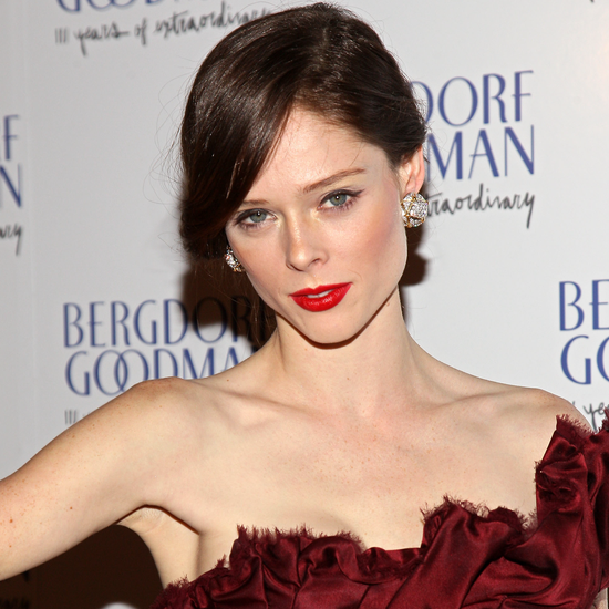 Coco Rocha, Karolina Kurkova at Bergdorf Goodman Party (VIDEO)