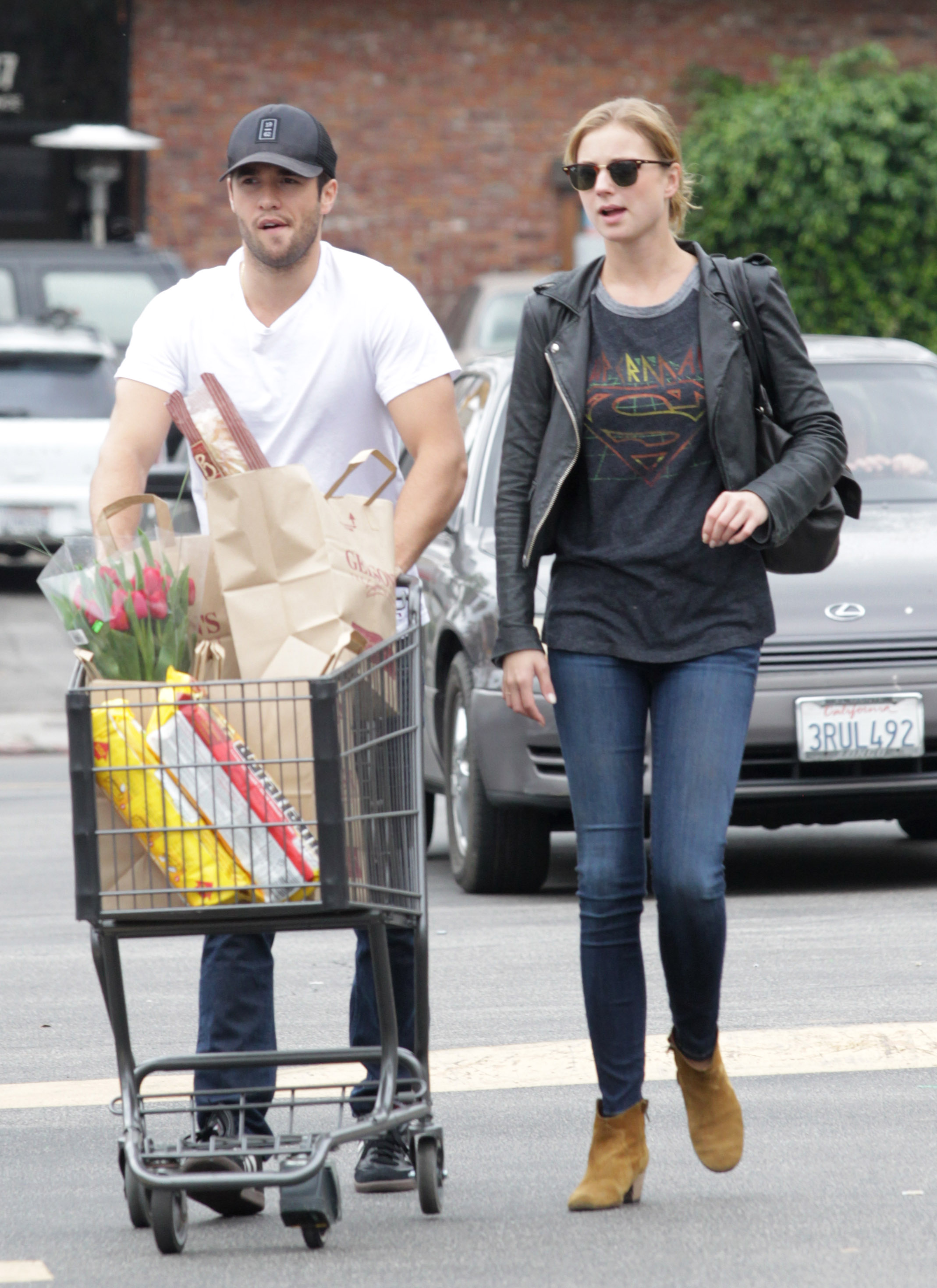 Emily VanCamp and Joshua Bowman Spend Their Weekend Together