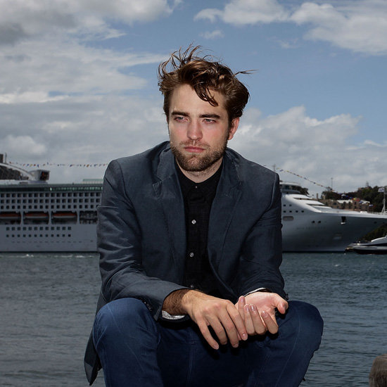 Robert Pattinson Pictures in Sydney Harbour For Breaking Dawn Part 2 Photo Call