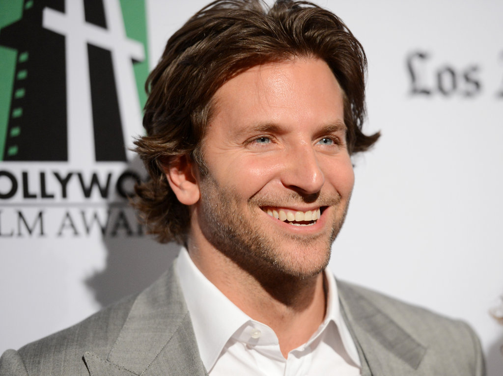 Bradley Cooper posed for photos at the Hollywood Film Awards gala in Los Angeles.