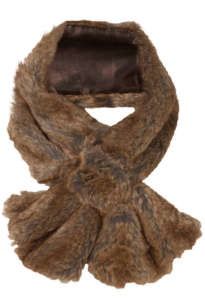 We'd pop this Topshop Faux Fur Tuck Stole ($40) into a military-inspired coat for a cold-weather day.