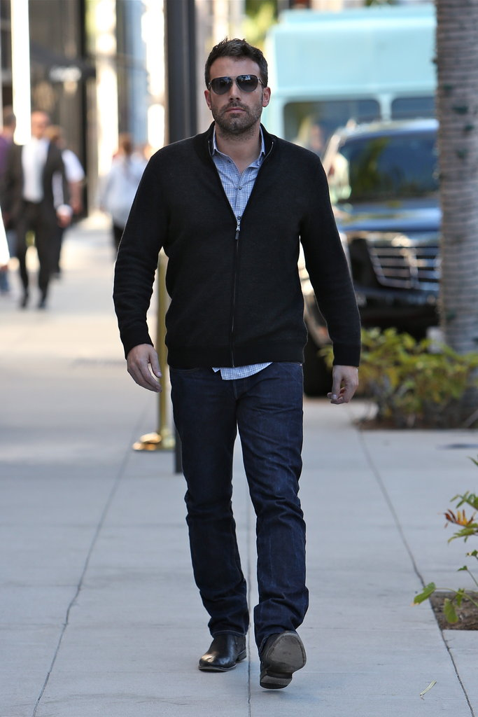 Ben Affleck stepped out in Beverly Hills.