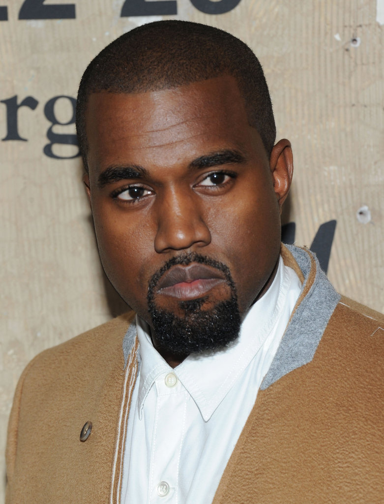 Kanye West attended the launch of Maison Martin Margiela for H&M in NYC.