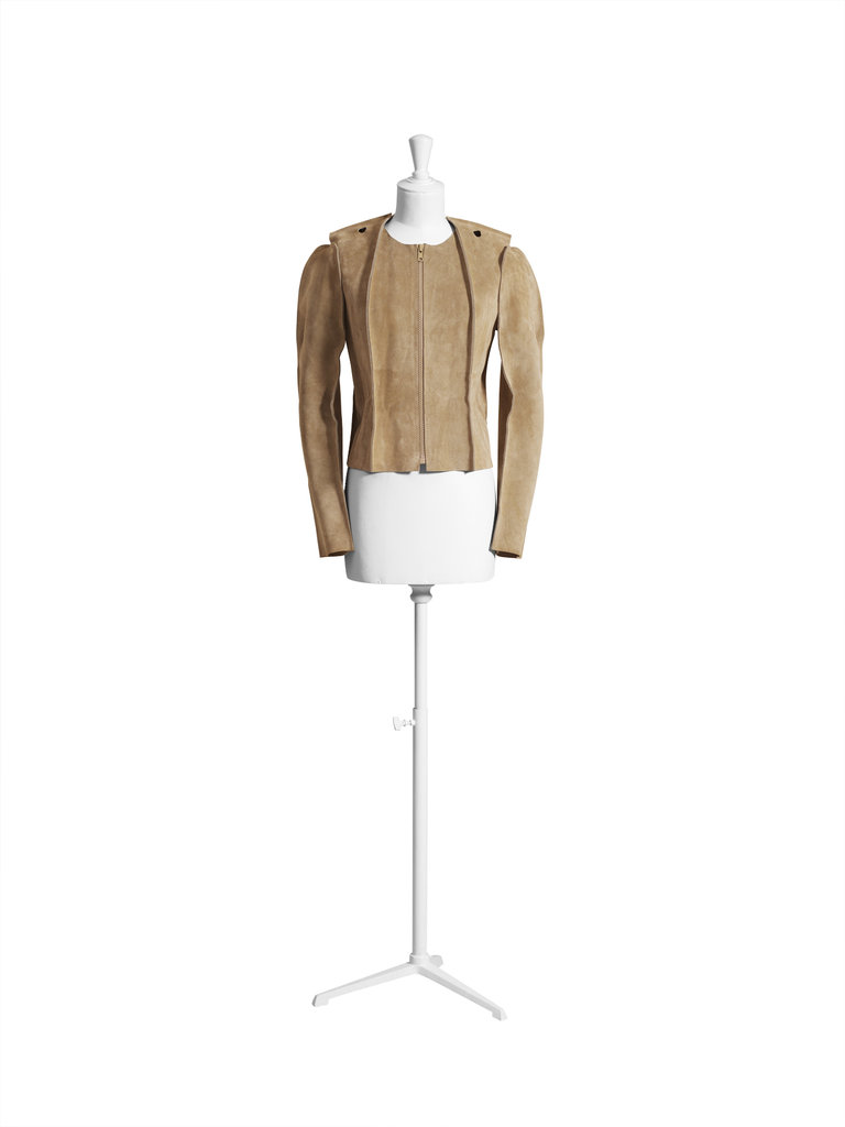 Suede jacket ($299)