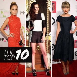 Top Ten Best Dressed Celebs: Alexa Chung, Kristen Stewart